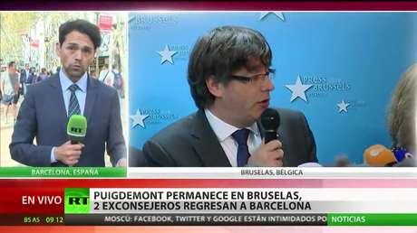 El expresidente del Gobierno de Cataluña permanece en Bélgica