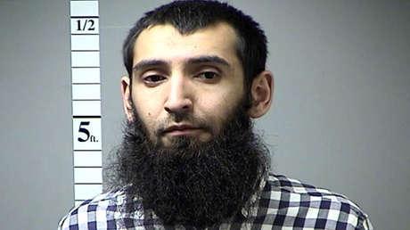 El sospechoso del ataque en Nueva York, Sayfullo Saipov.