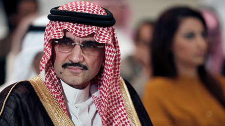 Al Walid ben Talal, multimillonario príncipe de Arabia Saudita.
