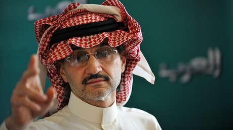 El prínicpe Al Waleed bin Talal