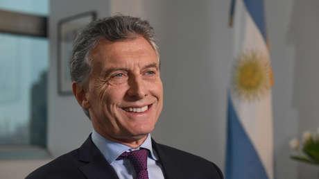 El presidente argentino, Mauricio Macri, el 7 de noviembre de 2017.