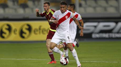 Futbolista peruano Paolo Guerrero.