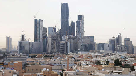 Vista de la ciudad de Riad, capital de Arabia Saudita.