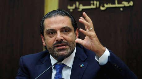 El primer ministro del Líbano, Saad al Hariri.