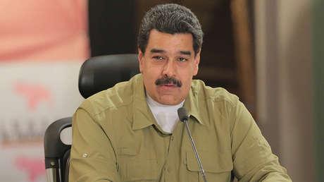 El presidente de Venezuela, Nicolás Maduro, en Caracas, el 6 de noviembre de 2017.