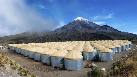 El observatorio HAWK, México