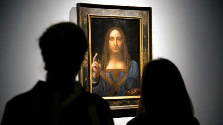Pintura titulada 'Salvator Mundi' (circa 1500)