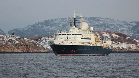 El buque oceanográfico ruso Yantar.