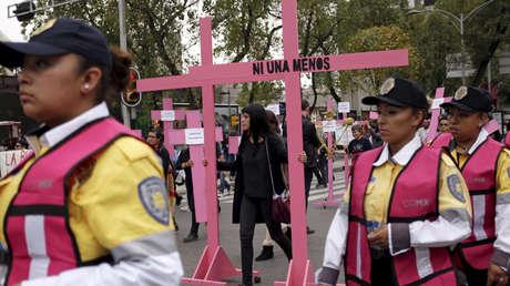 Día Internacional de la Eliminación de la Violencia contra la Mujer, Ciudad de México, 25 de noviembre de 2015.