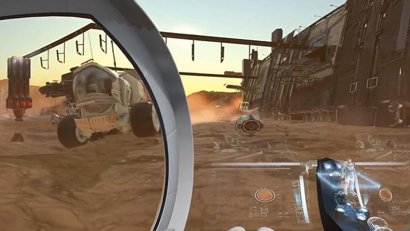 ¿Quiere vivir un impresionante viaje a Marte? Ahora mismo es posible (VIDEO 360º)