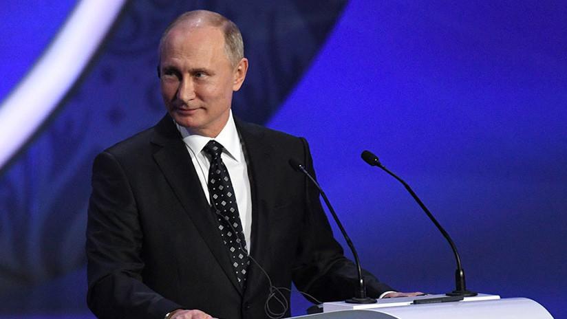 """Putin: """"Rusia tiene la intención de llevar a cabo el Mundial 2018™ al más alto nivel"""""""