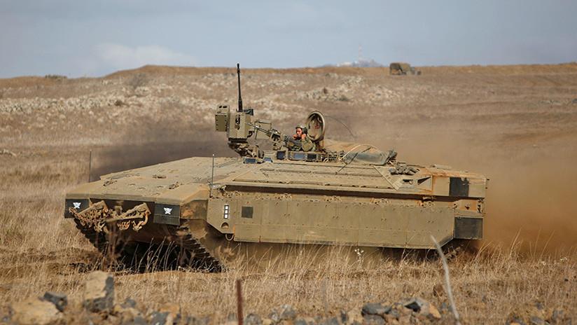 Israel dispara misiles contra posiciones de fuerzas sirias y sus aliados