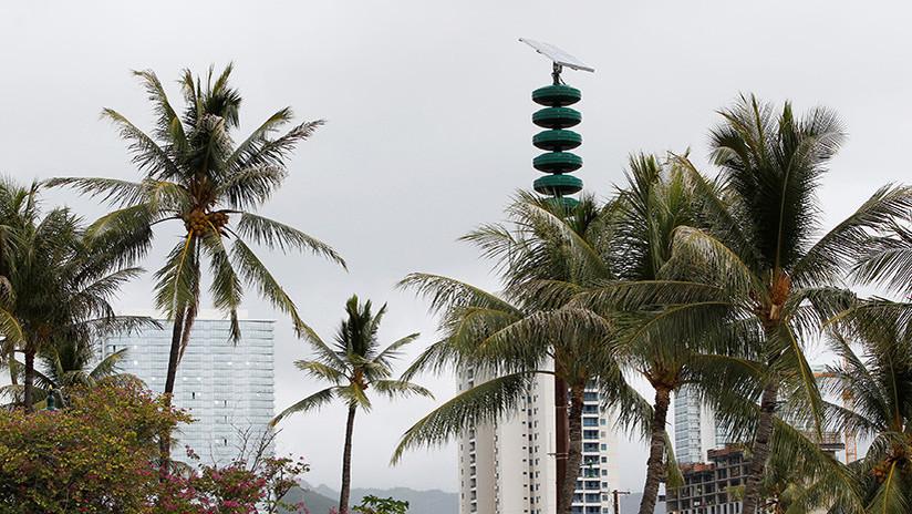 VIDEO: Suenan en Hawái las sirenas de alerta nuclear por primera vez desde la Guerra Fría