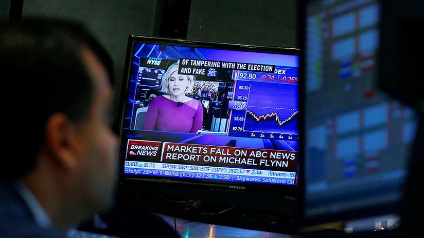 Un reporte falso de ABC News sobre Flynn y Trump provoca el desplome del mercado de valores