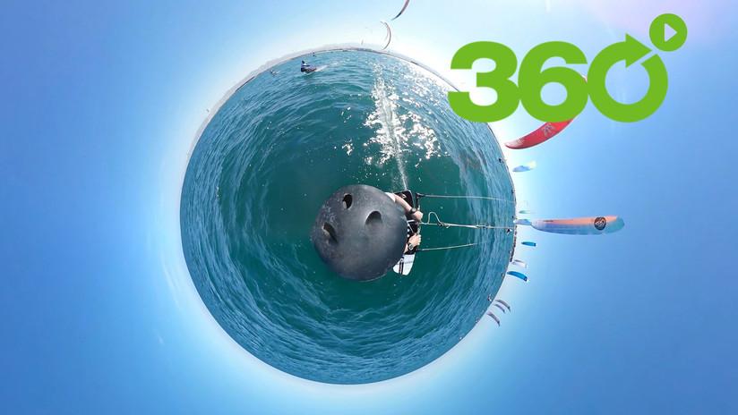 Kitesurfing en 360º: Así se vive una competencia extrema en las aguas de Omán