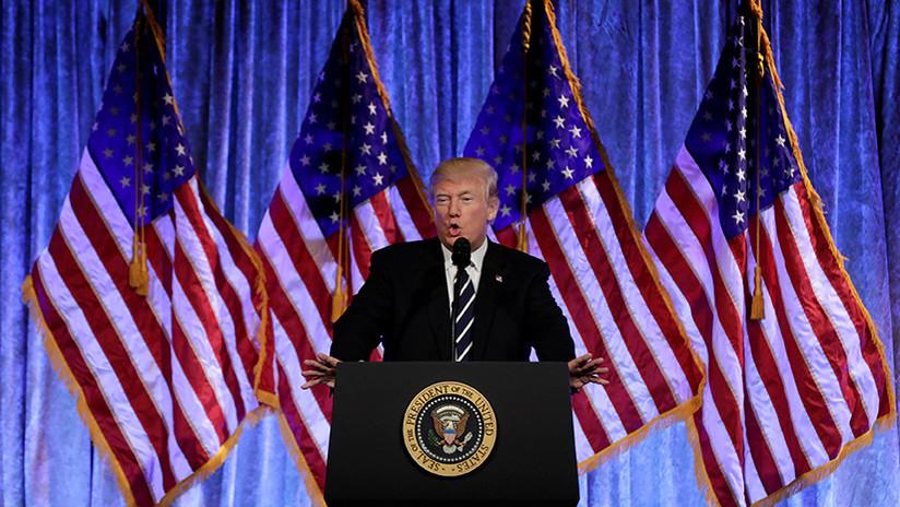 """Trump: Las acciones de Flynn durante la transición fueron """"legales"""", """"no hubo nada que esconder"""""""