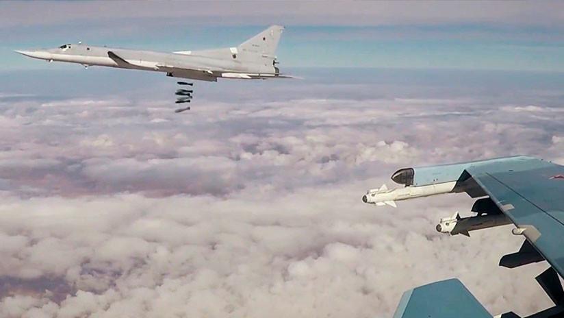 Seis bombarderos rusos Tu-22 M3 atacan objetivos del Estado Islámico en Deir ez Zor