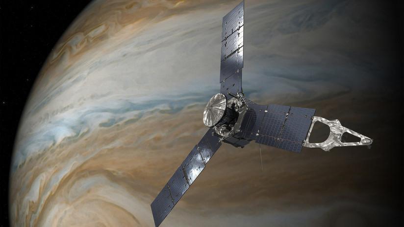 Los científicos explican por qué la sonda espacial Juno no está donde debería