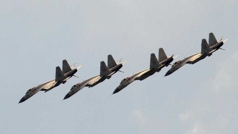 China despliega sus ejercicios aéreos más ambiciosos en el Pacífico occidental