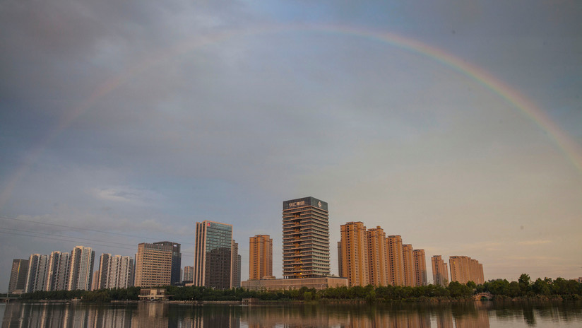 Nuevo récord mundial: Se registra el arcoíris más largo de la historia (VIDEO, FOTOS)