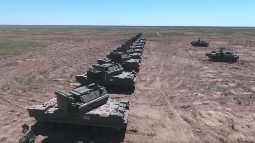 VIDEO: Rusia prueba los sistemas de misiles antiaéreos Tor-M2