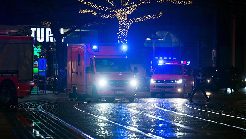 Reportan al menos 50 heridos por choque de trenes en Alemania