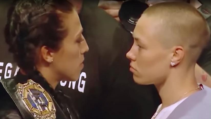Ríe de última, ríe mejor: luchadora de UFC somete a la campeona que le hizo 'bullying' (VIDEO)