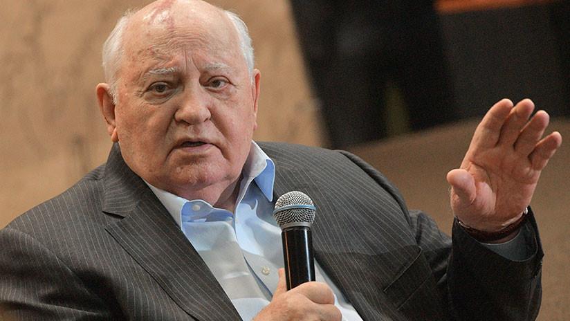 """""""Es indecoroso"""": Gorbachov condena la decisión del COI sobre los atletas rusos"""