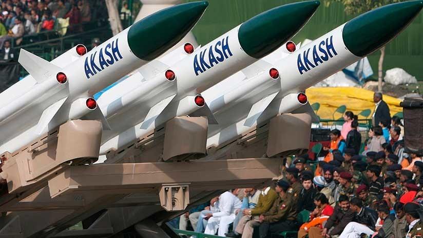 India prueba con éxito su misil antiaéreo Akash