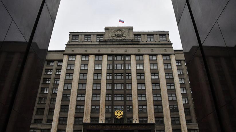 Representantes de medios considerados agentes extranjeros en Rusia no podrán visitar la Duma Estatal