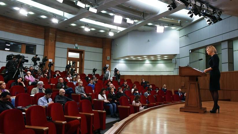 Rusia denuncia intentos de los servicios secretos de EE.UU. de reclutar a periodistas rusos