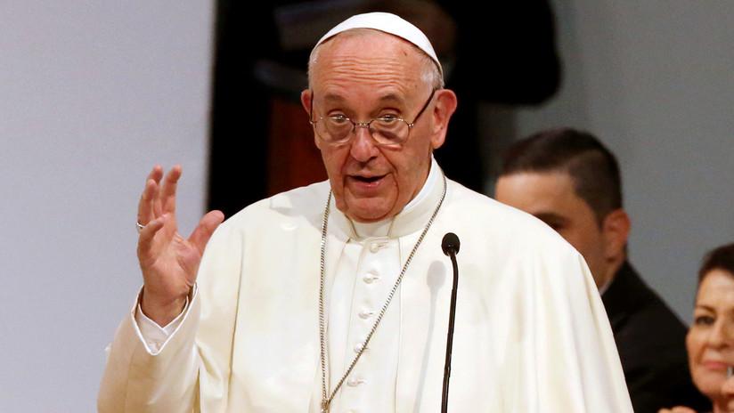 """El papa Francisco pide """"sensatez y prudencia"""" en relación a Jerusalén"""