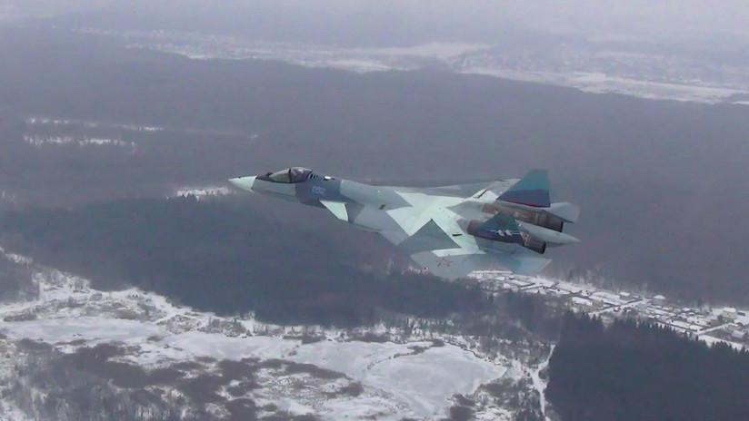 VIDEO: El caza ruso de quinta generación Su-57 estrena con éxito su nuevo motor