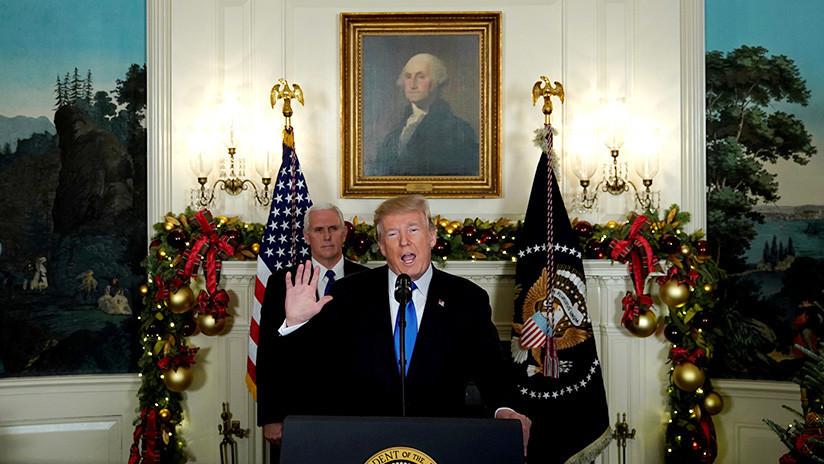 """""""No es el momento"""": El Congreso de EE.UU. bloquea un intento de someter a Trump a 'impeachment'"""