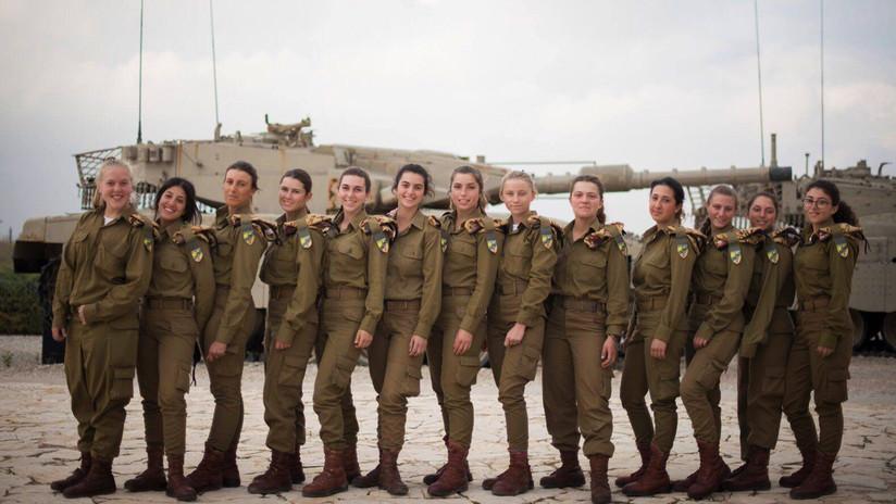 Defensa femenina: esta es la primera unidad de mujeres tanquistas de Israel