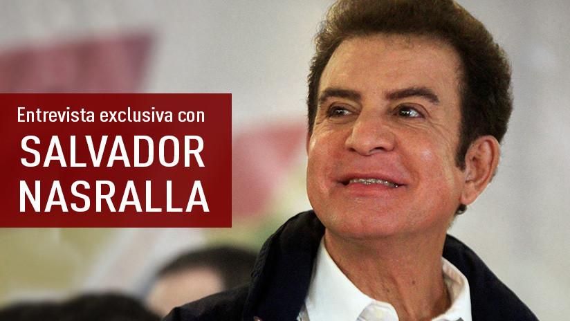 """Salvador Nasralla a RT: """"Estoy totalmente seguro de que gané las elecciones"""" (VIDEO)"""