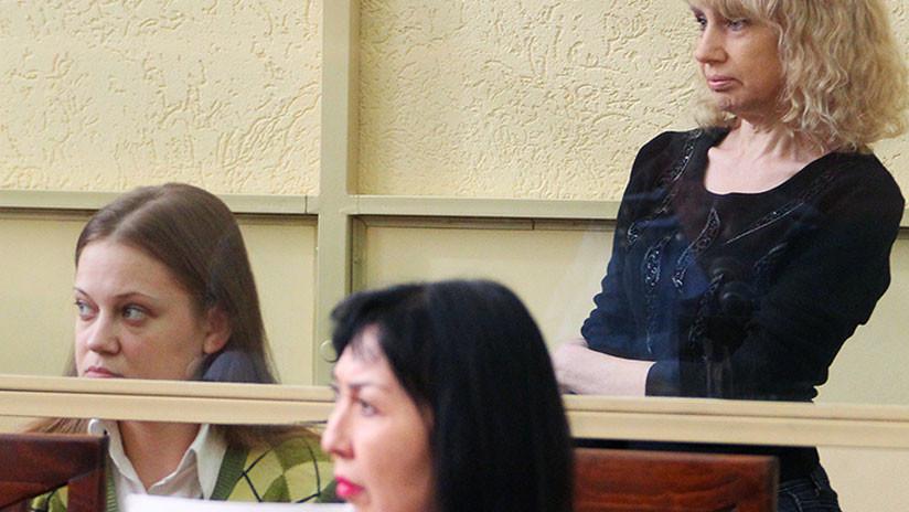 Dictan condena a la 'banda de las amazonas', la pandilla de mujeres más sangrienta de Rusia