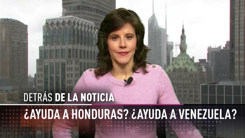 ¿Ayuda a Honduras? ¿Ayuda a Venezuela?