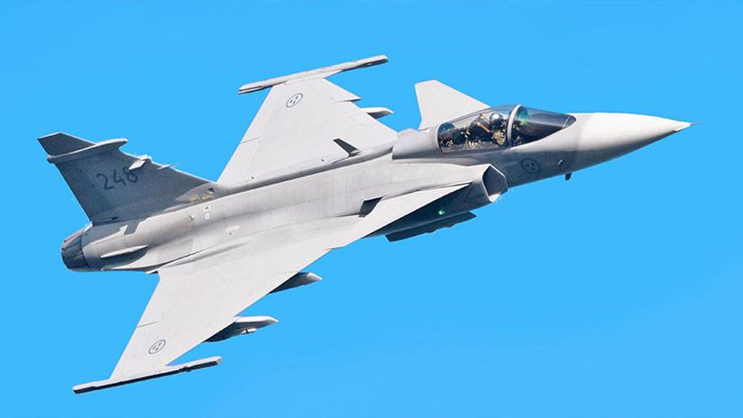 'Planes': Caza sueco Gripen maniobra con sobrecarga 9G (IMPACTANTE VIDEO)