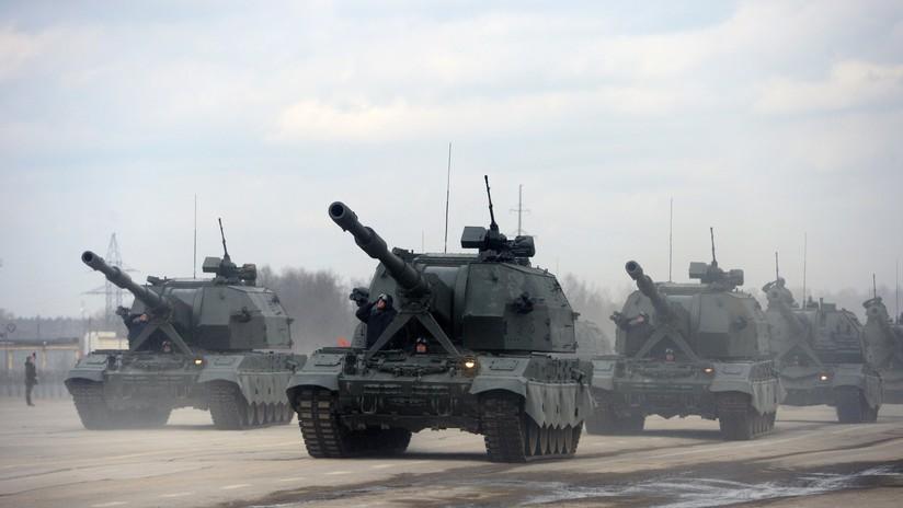 VIDEO: Revelan los secretos de la 'diosa de la guerra', poderoso obús del Ejército ruso