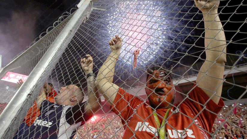 FOTOS: Así vivieron los hinchas la final de la Copa Sudamericana