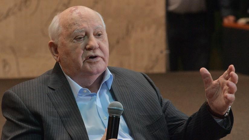 """Gorbachov: """"Putin es un líder que merecidamente goza de gran apoyo popular"""""""