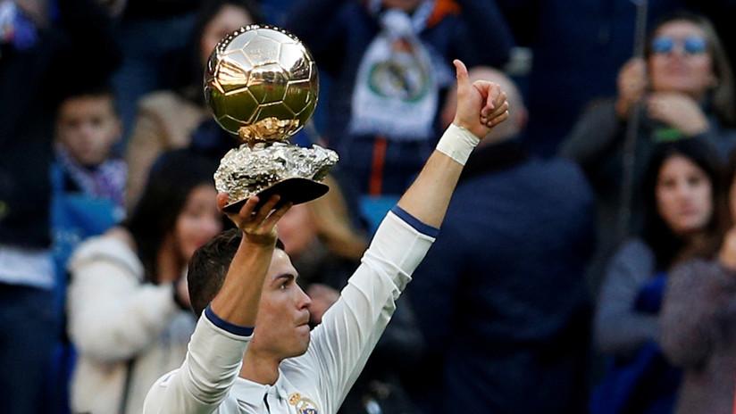 Cinco Balones de Oro: Cristiano Ronaldo iguala a Messi como mejor jugador del año