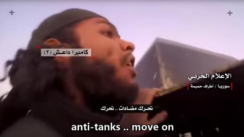 FUERTES IMÁGENES: Los últimos momentos de un grupo de yihadistas aniquilados en Siria
