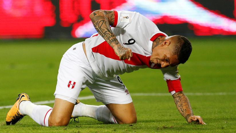 Mala noticia para Perú: La FIFA suspende a Paolo Guerrero por un año
