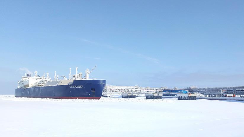 Putin inaugura una planta de gas natural licuado de 27.000 millones de dólares en el Ártico