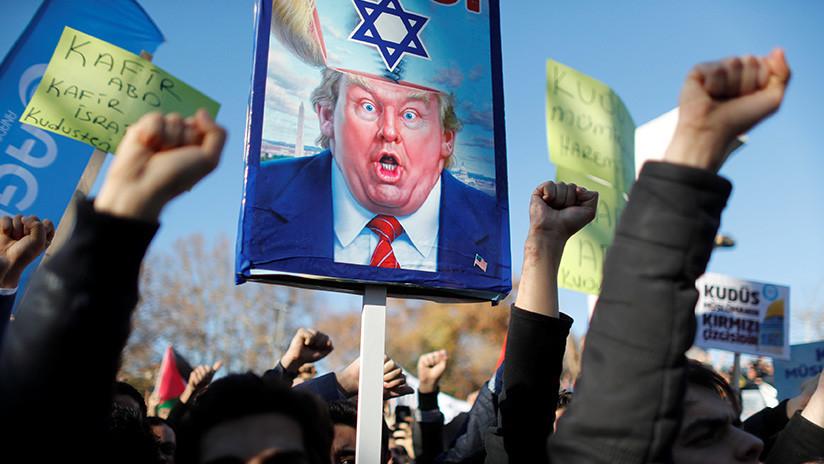 """Intifada 3.0: """"Trump ha traído una nueva guerra al Medio Oriente"""""""