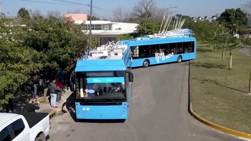 Autobuses eléctricos de una compañía rusa cosechan éxitos en América Latina