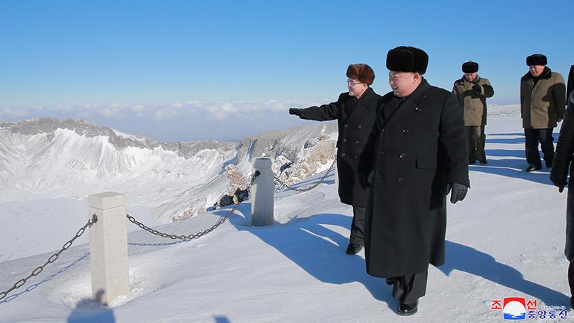 "Los medios norcoreanos afirman que Kim Jong-un ""controla la naturaleza"""