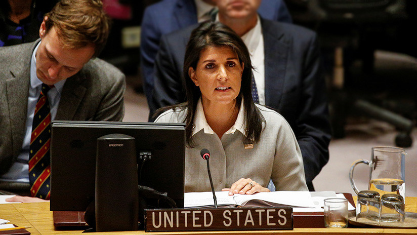 """""""Les Etats-Unis ne seront pas enseignés par des pays sans crédibilité pour résoudre le conflit israélo-palestinien"""""""